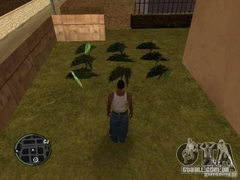 Maconha v2 para GTA San Andreas quinto tela