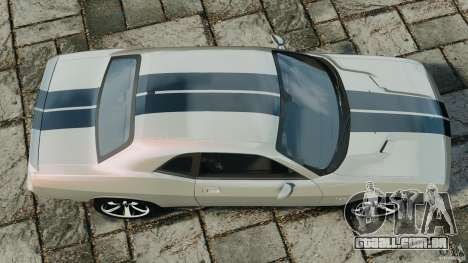 Dodge Challenger SRT8 392 2012 para GTA 4 vista direita