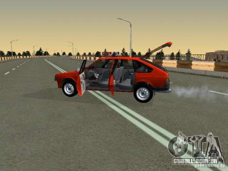 Azlk-2141 45 Sviatogor para GTA San Andreas vista interior