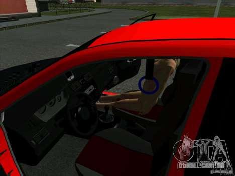 Mitsubishi Lancer Drift para GTA San Andreas vista traseira