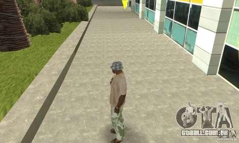 Calças de camuflagem para GTA San Andreas segunda tela