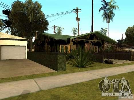 Casa nova de Denis para GTA San Andreas terceira tela