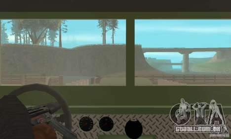 Jeep Willys Rock Crawler para vista lateral GTA San Andreas