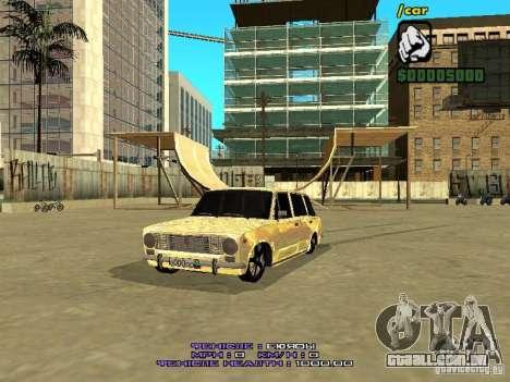 VAZ 2102 ouro para GTA San Andreas