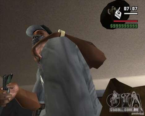 Detector de s. l. a. t. k. e. R # 4 para GTA San Andreas segunda tela