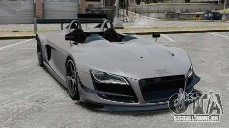 Audi R8 Spider Body Kit Final para GTA 4