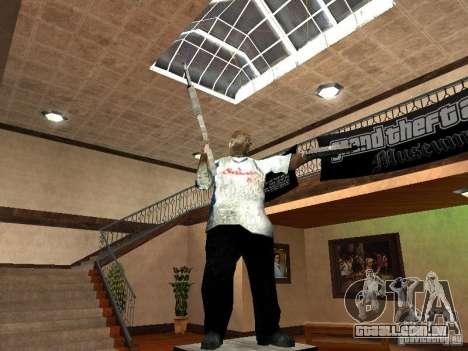 GTA Museum para GTA San Andreas terceira tela