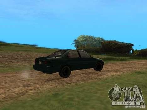 Toyota Camry Arabian Tuning para GTA San Andreas traseira esquerda vista