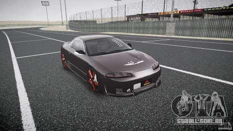 Mitsubishi Eclipse Tuning 1999 para GTA 4 vista direita