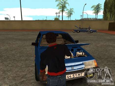 Abra o porta-malas e capô manualmente para GTA San Andreas