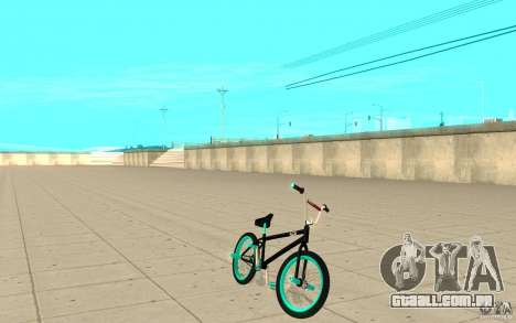 REAL Street BMX mod Black Edition para GTA San Andreas