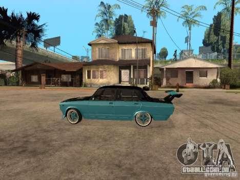 ВАЗ 2107 Drift para GTA San Andreas esquerda vista