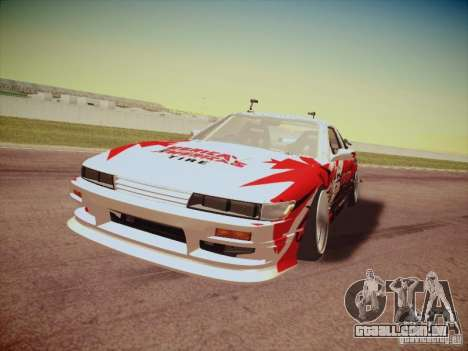 Nissan Silvia S13 Daijiro Yoshihara para GTA San Andreas esquerda vista