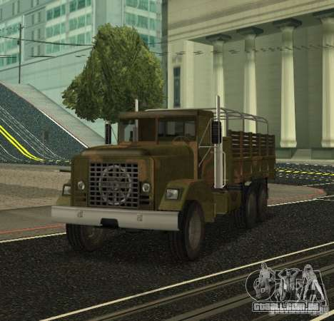 Sand Barracks HD para GTA San Andreas esquerda vista