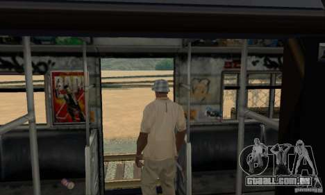 GTA IV Enterable Train para GTA San Andreas vista inferior