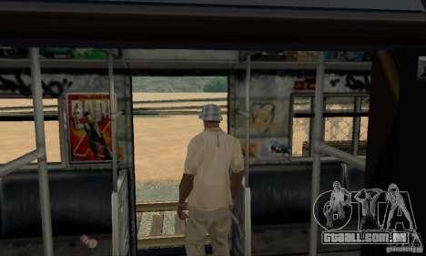 GTA IV Enterable Train para GTA San Andreas vista inferior