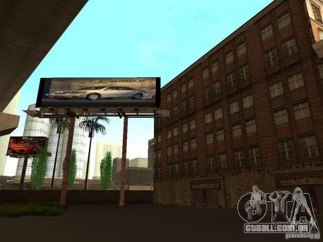 Novo centro de texturas Los Santos para GTA San Andreas quinto tela