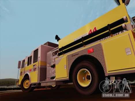 Seagrave Marauder II BCFD Engine 44 para as rodas de GTA San Andreas