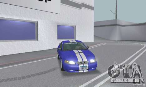 Ford Mustang GT 2003 para as rodas de GTA San Andreas