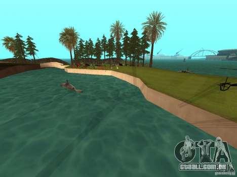 Kapu Pohaku Island v1.2 para GTA San Andreas segunda tela