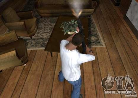 HK 416 para GTA San Andreas terceira tela