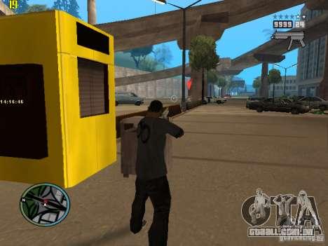 GTA IV  San andreas BETA para GTA San Andreas terceira tela