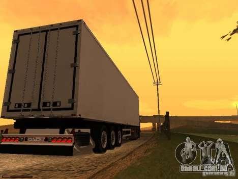 Reboque luzes v 3.0 para GTA San Andreas