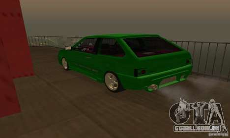VAZ 2113 ADT Art Tuning para vista lateral GTA San Andreas