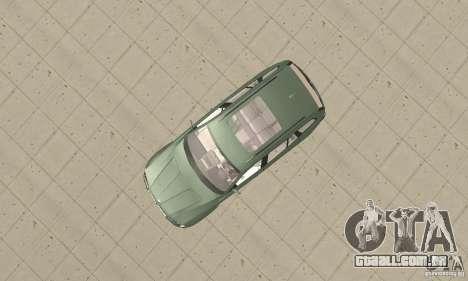 BMW X3 2.5i 2003 para GTA San Andreas vista direita