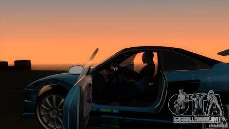 Toyota MR2 Drift para GTA San Andreas vista interior
