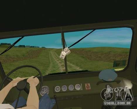 UAZ 31512 para GTA San Andreas vista direita