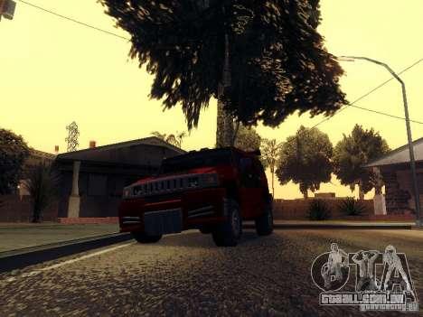 ENBSeries v1 para GTA San Andreas segunda tela