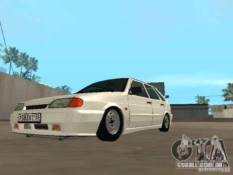 ВАЗ 2114 dreno para GTA San Andreas