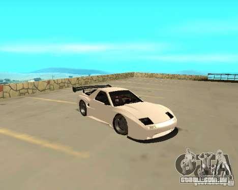 Mazda RX-7 FC - MadMike: Version.2 para GTA San Andreas traseira esquerda vista