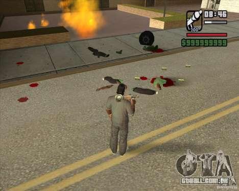 Real Ragdoll Mod Update 2011.09.15 para GTA San Andreas quinto tela