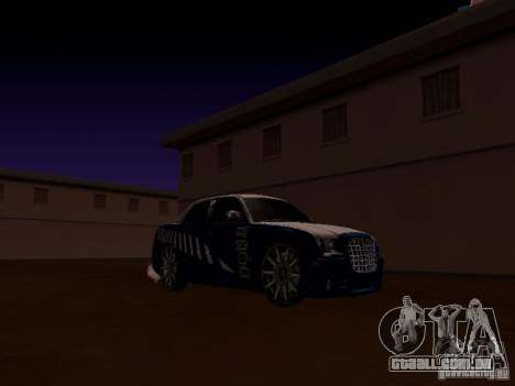 Chrysler 300C SRT8 2007 para vista lateral GTA San Andreas