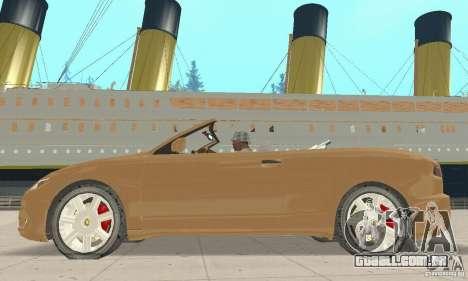 Chrysler Cabrio para GTA San Andreas traseira esquerda vista