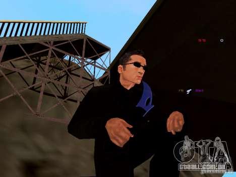 Ice Weapon Pack para GTA San Andreas por diante tela