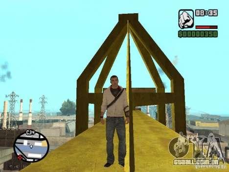 Desmond Miles para GTA San Andreas sexta tela