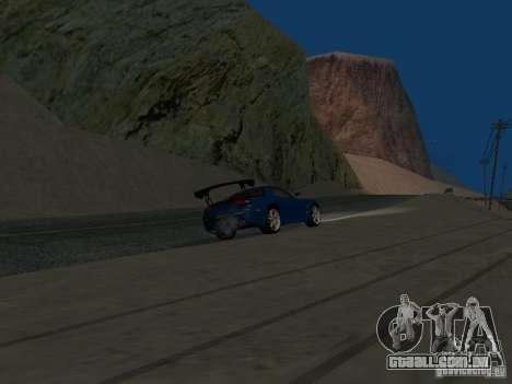 Mazda RX-7 para GTA San Andreas vista interior