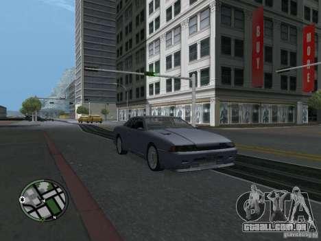 Elegy HD para GTA San Andreas