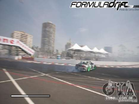 Telas de carregamento Formula Drift para GTA San Andreas por diante tela
