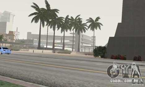 Project Oblivion Palm para GTA San Andreas por diante tela
