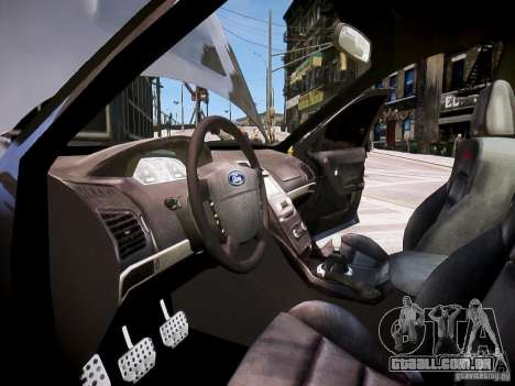 Ford Falcon XR-8 para GTA 4 vista de volta