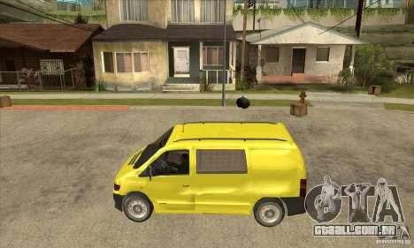 Mercedes-Benz Vito 112CDI para GTA San Andreas esquerda vista