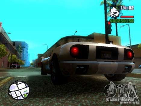 ENBSeries Medium PC para GTA San Andreas segunda tela