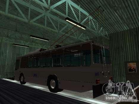 Yumz T2 para GTA San Andreas esquerda vista