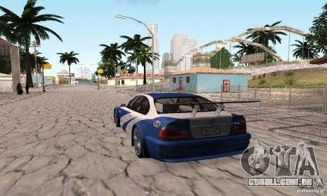 New Groove by hanan2106 para GTA San Andreas quinto tela