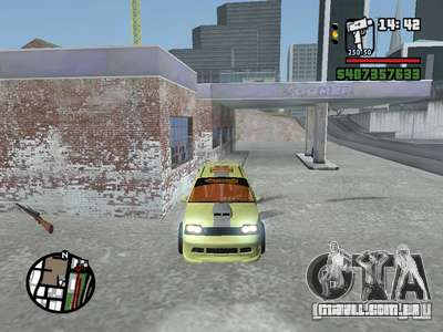 1111 OKA (tuning) para GTA San Andreas vista interior