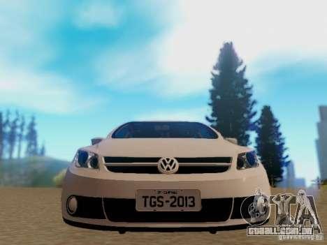 Volkswagen Voyage G5 Roda Passat CC para GTA San Andreas traseira esquerda vista